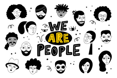 We are people!