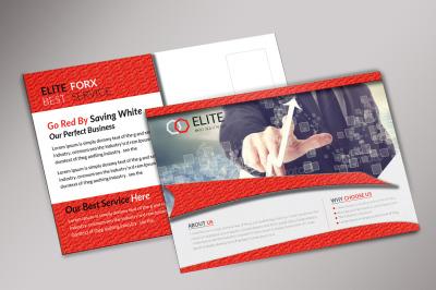 Business Corporate Postcard