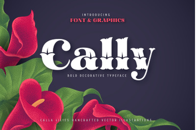 Cally Font and Graphics