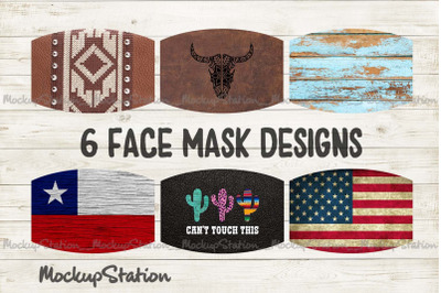 Southwest Face Mask Design Bundle