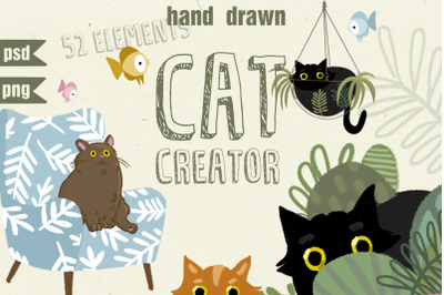 cat creator collection