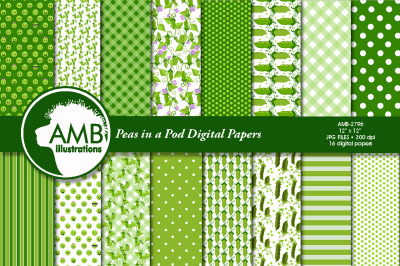 Peas in a Pod Papers AMB-2796