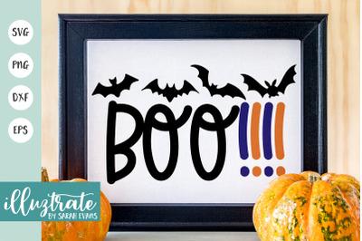 Boo SVG cut files | Halloween SVG Cut Files