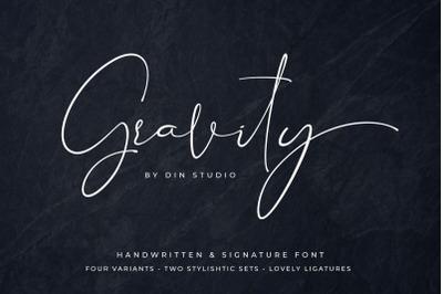 Gravity Handwritten & Signature