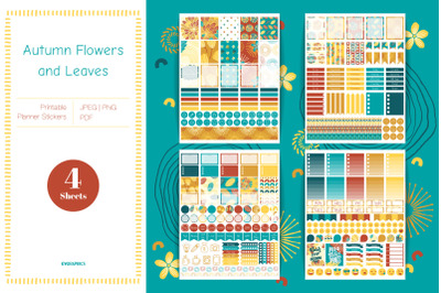 Printable Fall Planner Stickers