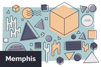 Memphis Vector Backgrounds