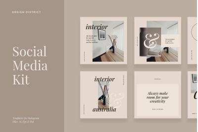 Home Decor Social Media Kit