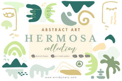 Abstract Art Hermosa Collection.