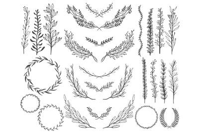 Decoration branch element design