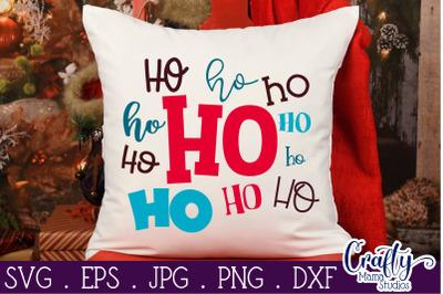 Christmas Svg - Santa Svg - Santa Claus Svg - Merry Christmas Svg - Ho
