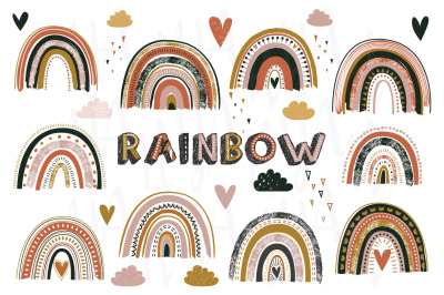 Cute Rainbows Collection Set