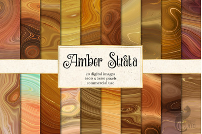 Amber Strata Textures