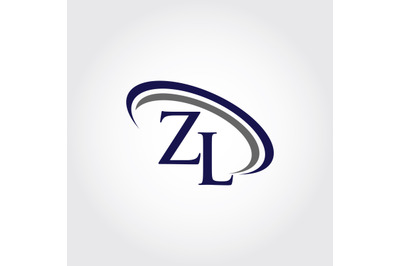 Monogram ZL Logo Design