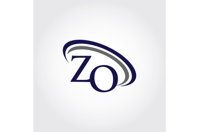 Monogram ZO Logo Design