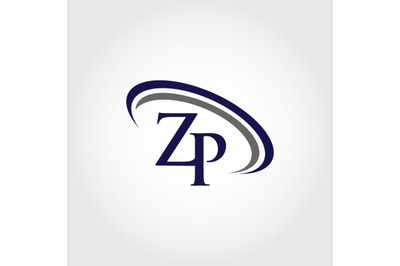 Monogram ZP Logo Design