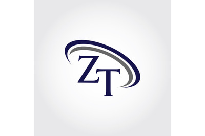 Monogram ZT Logo Design