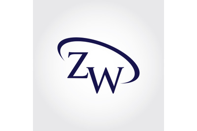 Monogram ZW Logo Design