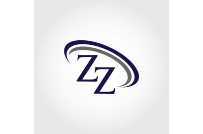 Monogram ZZ Logo Design