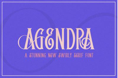 Agendra Serif Font