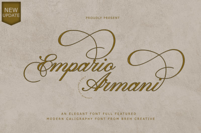 Empario Armani Font