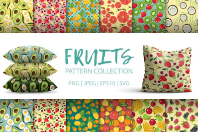 Fruits. Pattern Collection