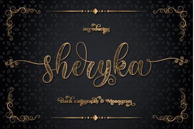 Sherika | batik calligraphy
