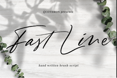 Fast Line Brush Script