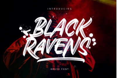Black Ravens - Dry Brush