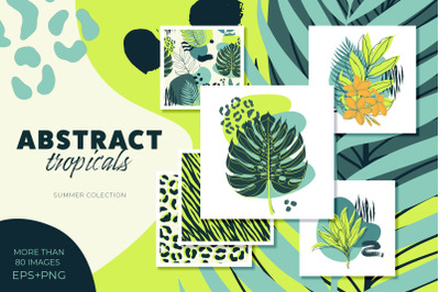 Abstract tropical collection