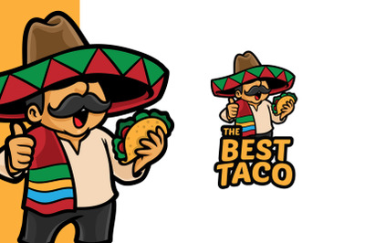 Best Taco Logo Template