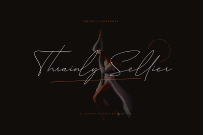 Thrainly Sellier Classy Script Fonts