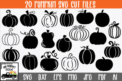 Pumpkins SVG Cut File Bundle
