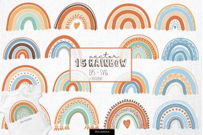 15 rainbows