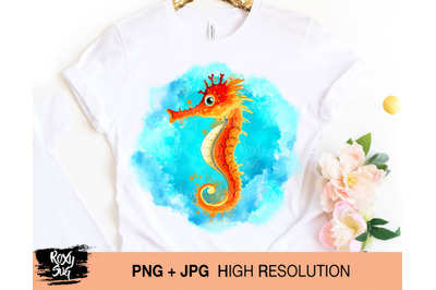 fish clipart, seahorse png