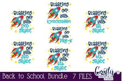 First Day Of School Bundle Svg