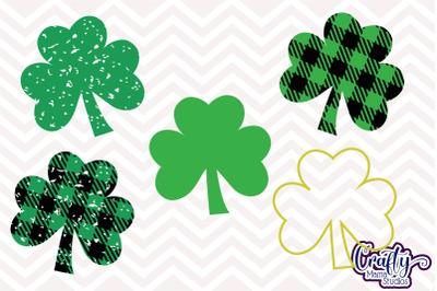 St Patrick's Day SVG - Buffalo Plaid svg - Leprechaun - Shamrock - Fou