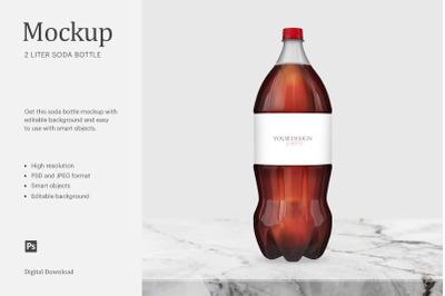 2 Liter Soda Bottle Mockup, 2 Liter Soda Label, Bottle Soda Mockup