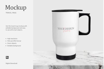 Travel Mug Mockup Bundle, Sublimation Mug Mockup, Coffee Travel Mug