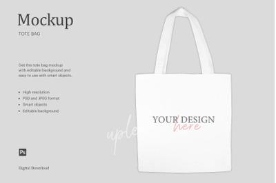 Tote Bag Mockup, Sublimation Mockup Tote Bag