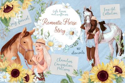 Romantic Horse Story