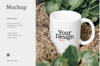 Stemless Cup Mockup