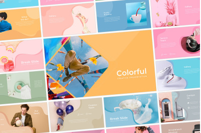 Colorful - PowerPoint Template