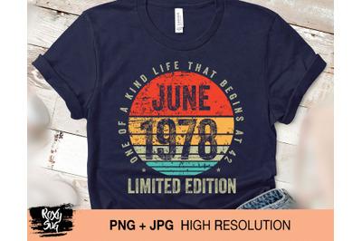 Vintage june 1978 png