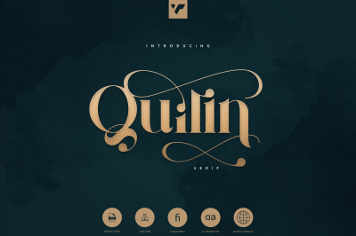 Quilin Serif - latin and Cyrillic