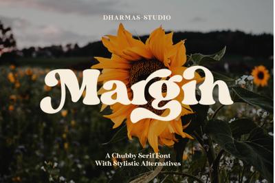 Margin - Retro Serif Font