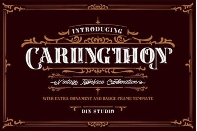 Carlingthon Vintage Font