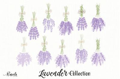 Lavender Bouquet for Kitchen Decor