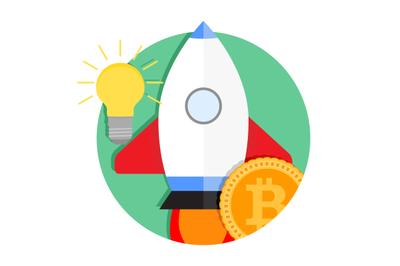 ICO start up icon