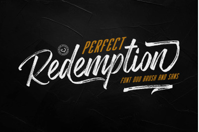 Perfect Redemptation Font Duo