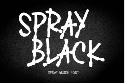 SPRAY BLACK